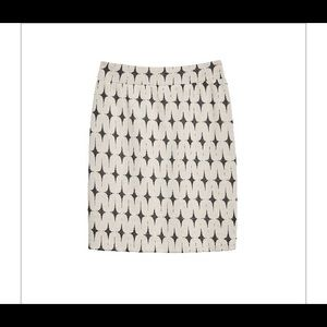 Renee C Lena Printed skirt